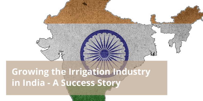 irrigation industry in India