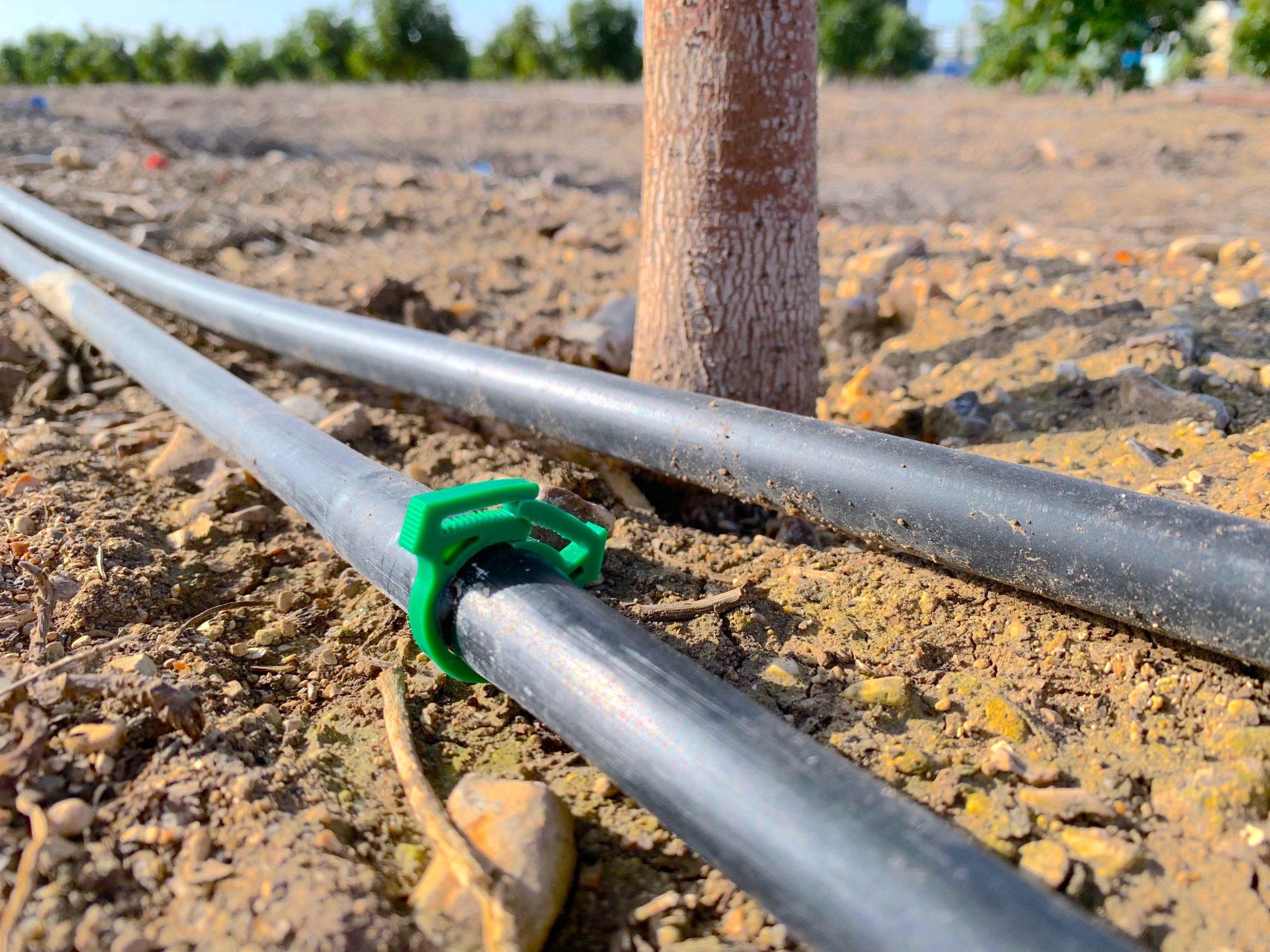 Dripper Drop Plug in Field