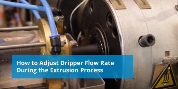 adjusting dripper flow rate