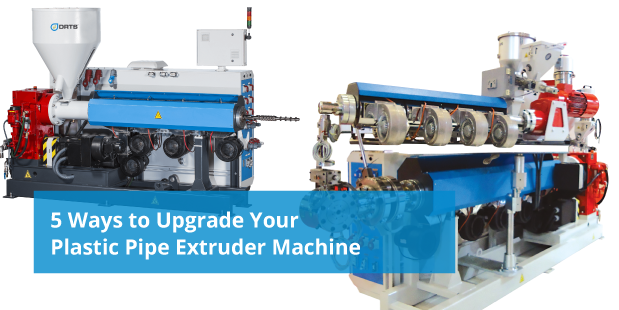 upgrade plastic pipe extruder